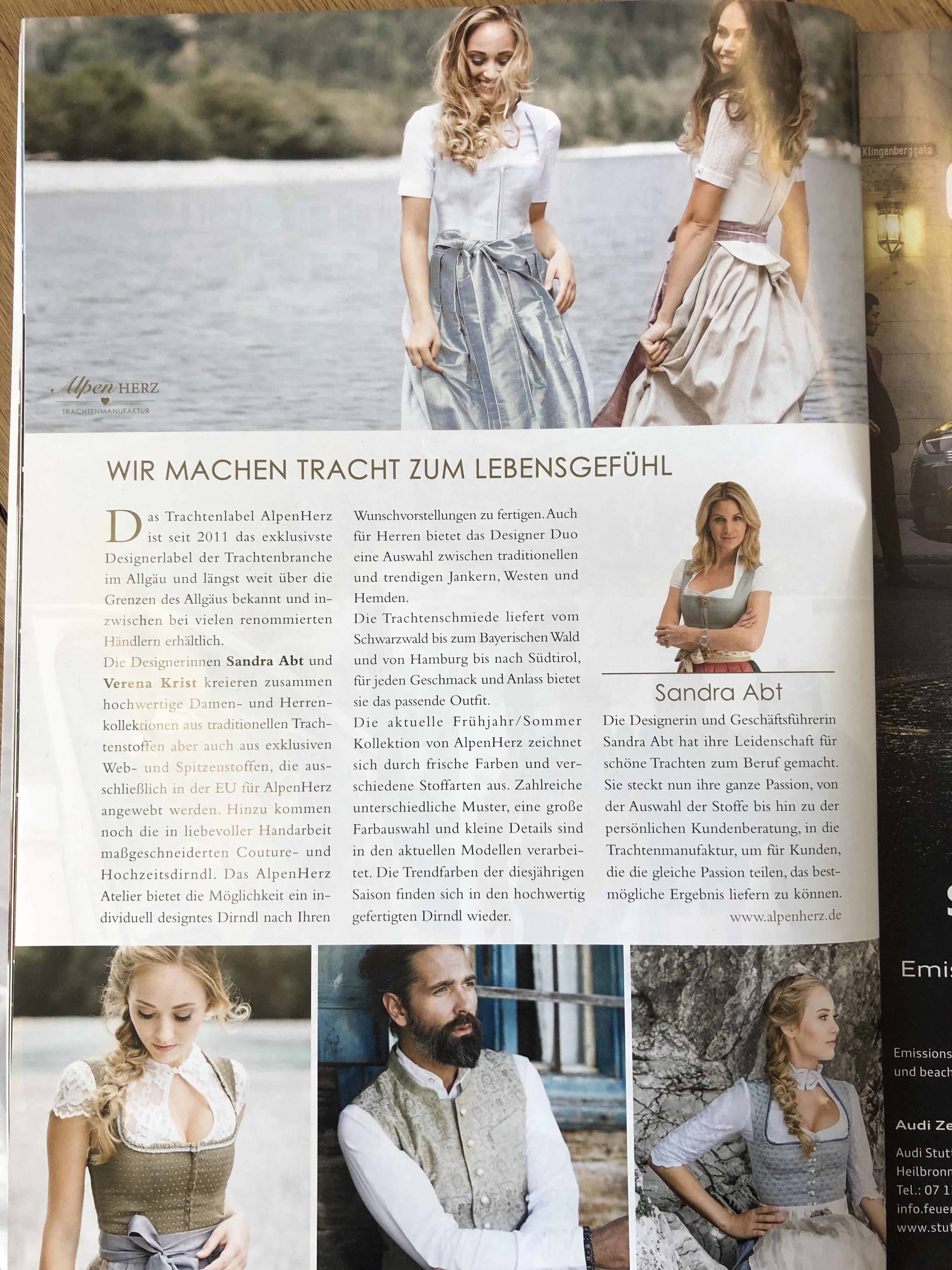 Premium Magazin feine addressen - finest stuttgart