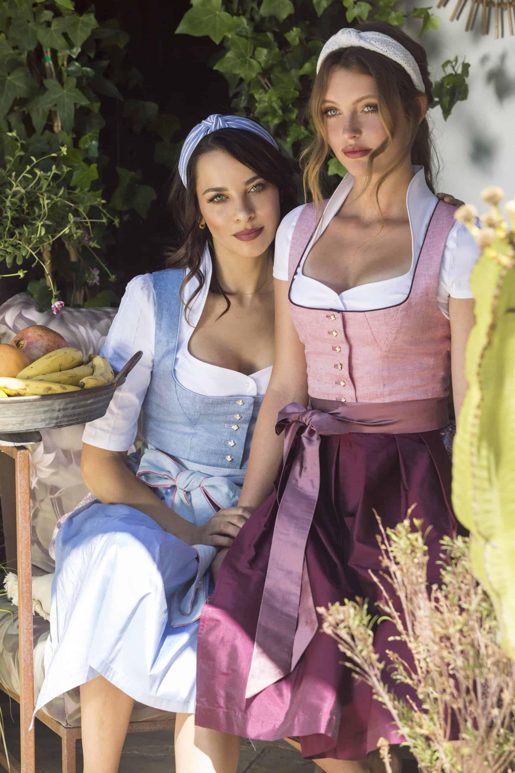 Dirndl Alicia und Elisa