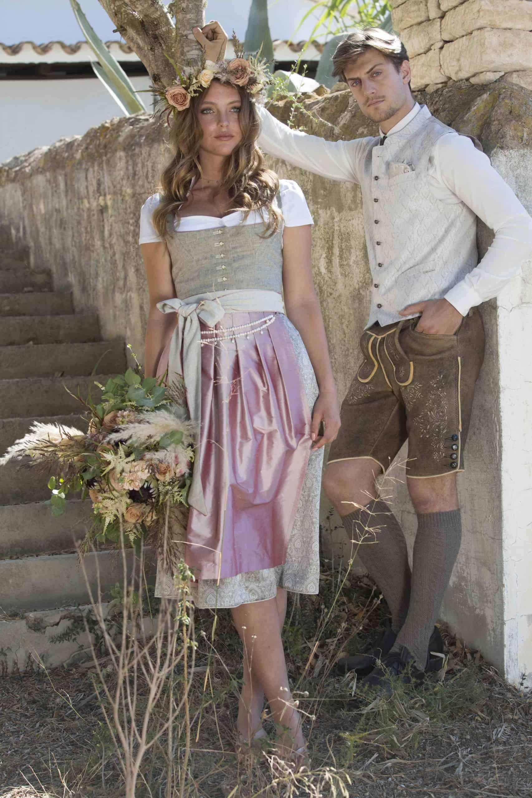 Moderne Hochzeitstracht für Sie und Ihn