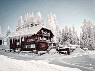 Sonnbühel im Schnee in Kitzbühel - Kooperationspartner von AlpenHerz