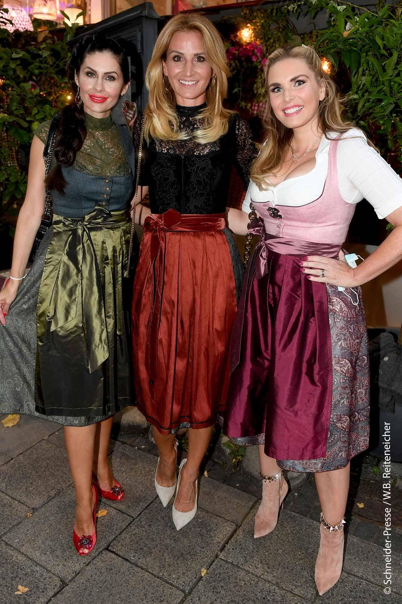 Sandra Abt mit Jeannette Graf und Alexandra Geissel