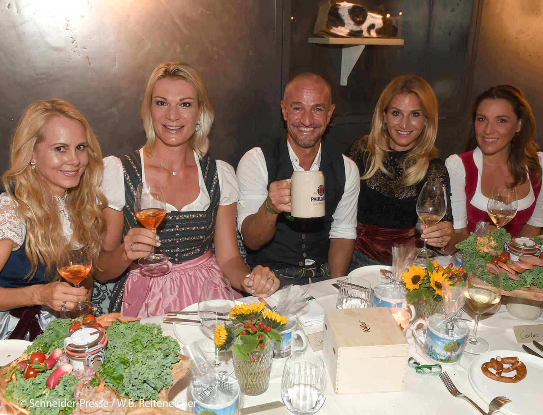 Alpenherz Dinner 2020 mit Sandra Abt und Prominenz