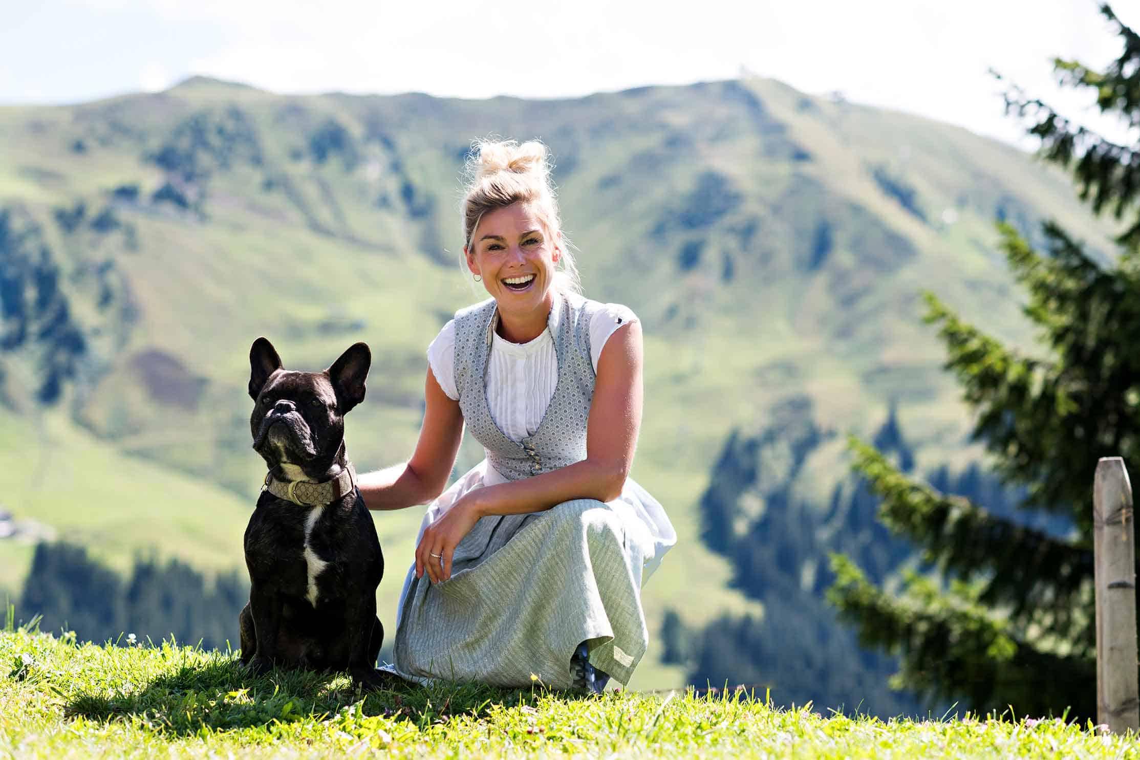 Belli mit Hund Sonnbühel in Kitzbühel Kooperationspartner AlpenHerz
