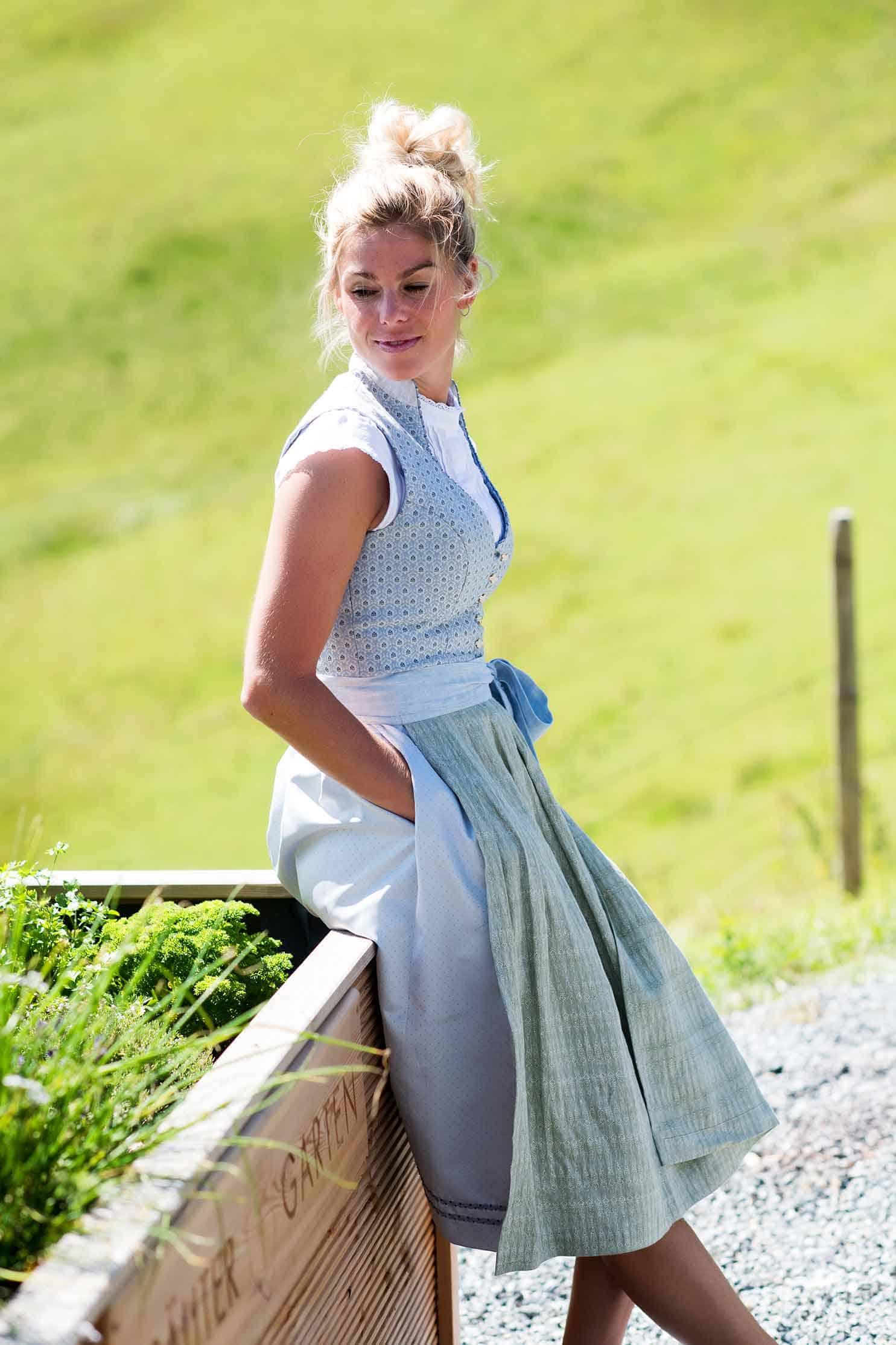Belli im Dirndl Mathilda Sonnbühel in Kitzbühel Kooperationspartner AlpenHerz