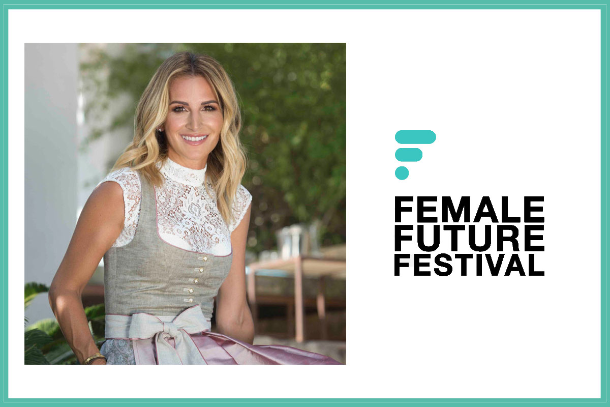 AlpenHerz CEO Sandra Abt als Speaker beim Female Future Festival