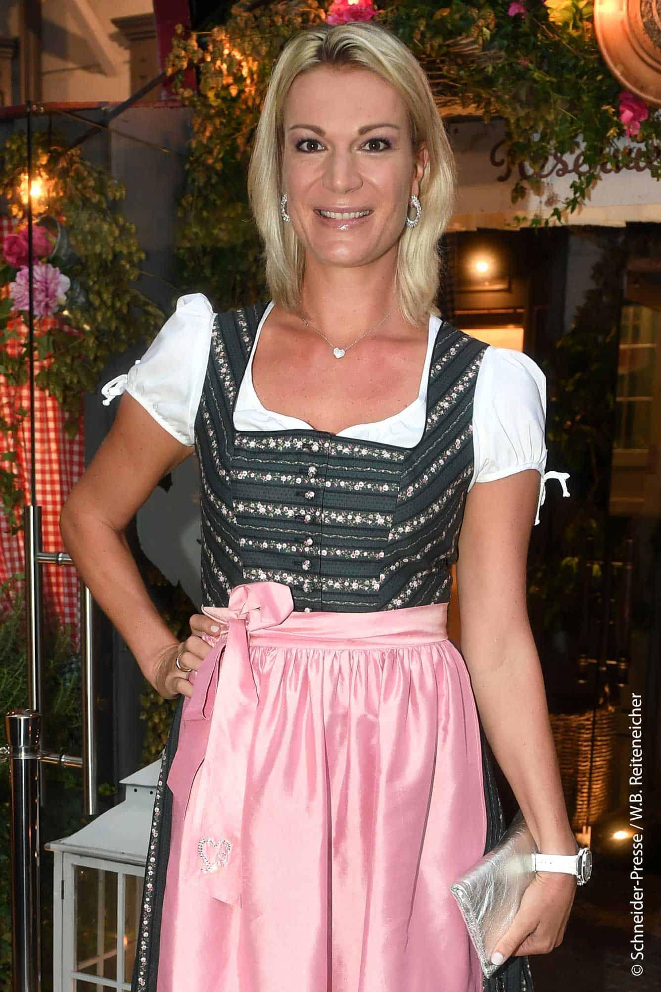 Maria Hoefl-Riesch beim AplenHerz Dinner 2020