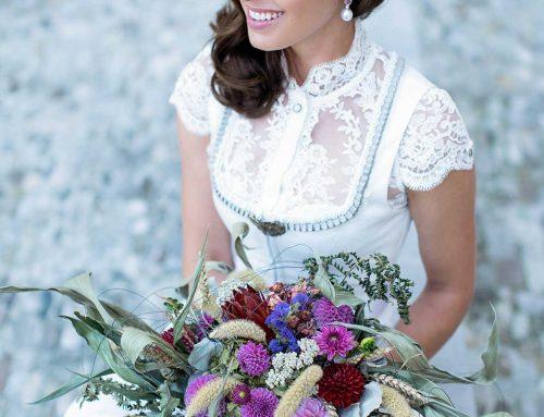 Das passende Brautdirndl