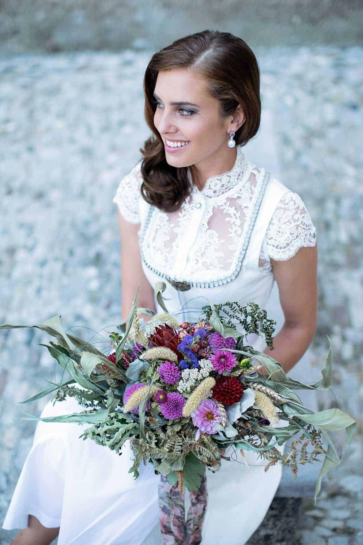 Romantisches Hochzeitsdirndl Janina