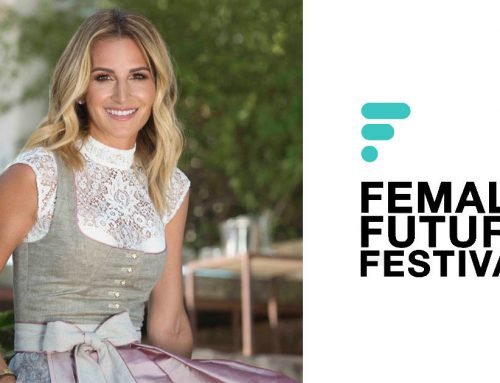 AlpenHerz CEO Sandra Abt als Speakerin auf dem Female Future Festival